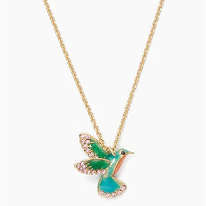 KATE SPADE Scenic Route Hummingbird Necklace